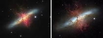 Home Telescope vs The Hubble Space Telescope This galaxy is  million light-years away