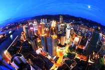 Home to Nine Million People Chongqing China at Night x
