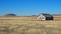 Homestead and Volcanic Bulge  Capulin New Mexico