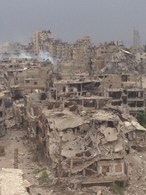 Homs Syria the city once called the capital of the revolution May th   x-post rsyriancivilwar
