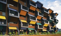 Honeycomb Apartments OFIS Architects