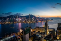 Hong Kong at Dusk  by Andrew Lovedee-Turner