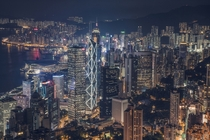 Hong Kong at night  By Bryan Leung
