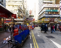 Hong Kong at street level