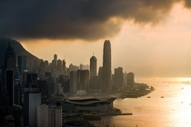Hong Kong  by Nattapon Sritrairat