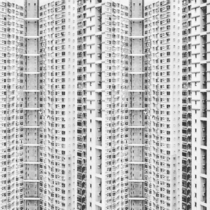 Hong Kong - eastern high-rises