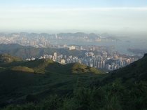 Hong Kong from a distance