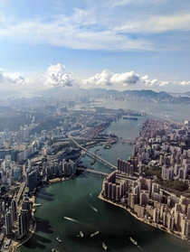 Hong Kong from the air