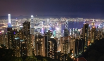 Hong Kong in all its glory the worlds most beautiful skyline at night and the th densest stateterritory in the world