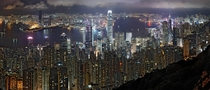 Hong Kong Nighttime Skyline