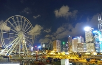 Hong Kong Observation Wheel Under Construction
