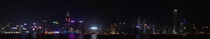 Hong Kong Panoramic Waterfront at night