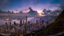 Hong Kong skyline  by Andi Andreas