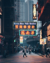 Hong Kong streets Photo credit to ustfeyes