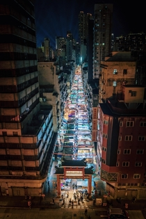 Hong Kongs Temple Street Night Market