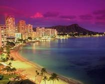 Honolulu Hawaii At Dusk