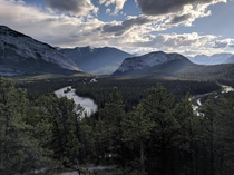 Hoodoos Viewpoint Banff National Park