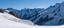 Hope everyone is ok with panoramas - Tasman Glacier AorakiMt Cook National Park New Zealand