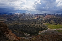 Hope this pic taken while hiking near Landmannalaugar Iceland stands out among the other awesome ones