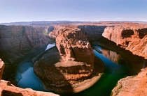 Horseshoe Bend AZ Learned about this scenic view about ten years ago or more always wanted to see it in person This is what I saw