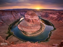Horseshoe Bend in Page Arizona  by Mark Pedregosa