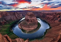 Horseshoe Bend Sunset