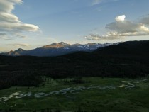 Horseshoe Park and the Continental Divide - Rocky Mountain National Park