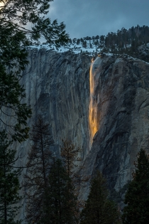 Horsetail Fall Yosemites Natural Firefall