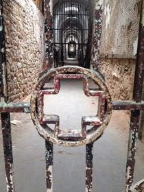 Hospital wing at Eastern State Penitentiary OC