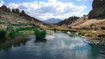 Hot Creek Geological Site Inyo National Forest CA USA