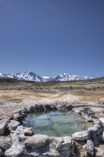 Hot Spring near Bishop CA