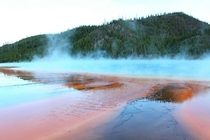 Hot Springs at Yellowstone National Park