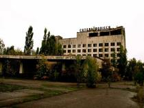 Hotel located in Chernobyl