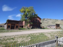 Hotel Meade Bannack ghost town Montana