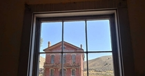 Hotel Meade in Bannack Montana from the window across the street