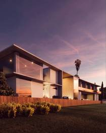 House I Designed for La Jolla California