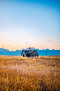 House in Montana Photo credit to Steve Cordes