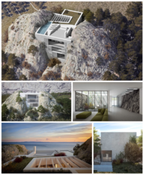 House Kuk by Branka Juras amp Associates planned in the Veliko Brdo area near the city of Makarska Croatia