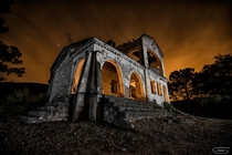 House of Evil Night photo in an abandoned house at Spain By Toms Snchez