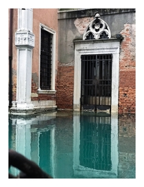 House Under Water Venice Italy