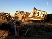 Houses destroyed by Sandy - Mantoloking NJ
