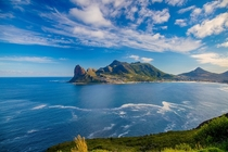 Hout Bay in Cape Town South Africa