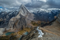 How can a name so dirty produce a view so stunning - Smutwood Peak Kananaskis AB -