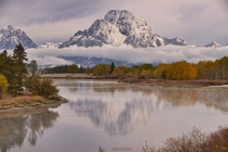 How do you beat that view  Oxbow Bend in Grand Teton National Parkx