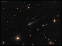 How impressive will Comet ISON become Unfortunately as the comet approaches the inner Solar System it is brightening more slowly than many early predictions In this image Comet ISON is seen as it continued to develop a tail Last week the comet passed rela