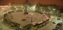 How Looks Like Winter in Your City Lodz Poland