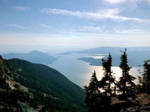 Howe Sound Crest Trail British Columbia Canada