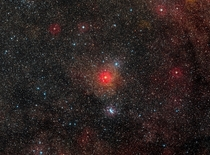 HR  a very rare type of stars with only a dozen known in our galaxy Credit ESODigitized Sky Survey
