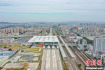Huadu Station in north Guangzhou opened to traffic on November th With  platforms three intercity services run through it Guangzhou North Station a directly adjacent station to the right of Huadu station in this picture will be redeveloped to have  platfo