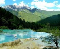 Huanglong National Park Sichuan Providence China